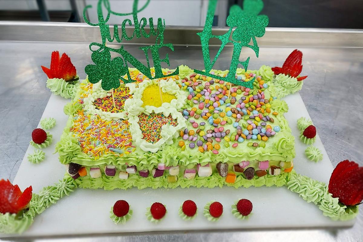 Bromley Park St Patrick's Day cake