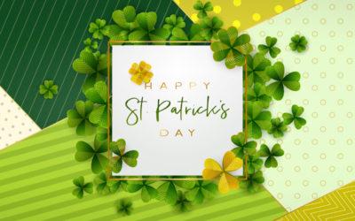 St Patricks Day menus across Nellsar